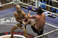 Muay Thai fight Royalty Free Stock Image