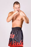 Muay Thai fighter Stock Photos