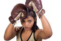 Muay Thai fighter Royalty Free Stock Photo