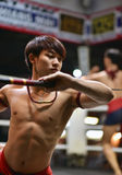 Muay Thai Fighter Royalty Free Stock Images