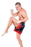 Muay Thai fighter Stock Photo
