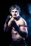 Muay thai fighter Stock Photography