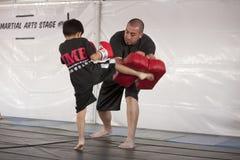 Muay Thai Kid Royalty Free Stock Image