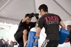 Muay Thai Kid Stock Photo