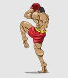 Muay thai. Martial art Stock Photography