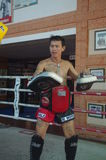 Muay Thai training at Fairtex Stock Photos