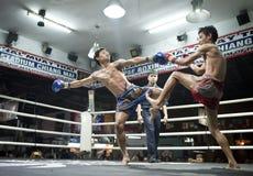 Muay thailändisches in Chiang Mai Lizenzfreies Stockbild
