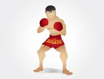 Muay Thaise gardstand Royalty-vrije Stock Fotografie