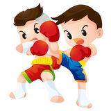 Muaythai Royalty Free Stock Photos