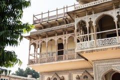 Mubarak Mahal Art stock fotografie