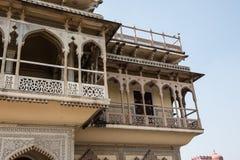 Mubarak Mahal Artwork royalty-vrije stock afbeeldingen