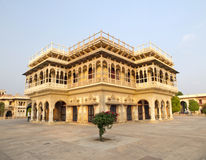 Mubarak Mahal in the City Palace of Jaipur Royalty Free Stock Images
