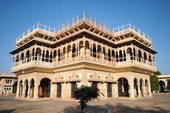 Mubarak Mahal in City Palace, Jaipur, India Royalty Free Stock Photo