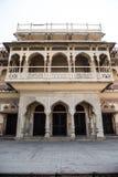 Mubarak Mahal Exterior Lizenzfreie Stockfotografie