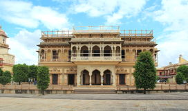 Mubarak Mahal in Jaipur. Royalty Free Stock Images
