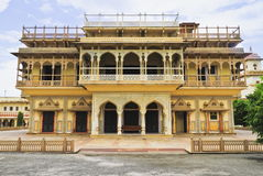 Mubarak Mahal,City Palace Jaipur Stock Photography