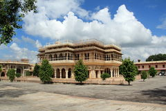 Mubarak Mahal.Jaipure. Royalty Free Stock Images