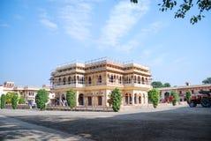 Mubarak Mahal no palácio da cidade de Jaipur Imagens de Stock Royalty Free