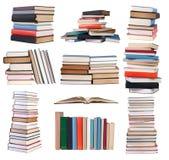 Mucchi dei libri Fotografia Stock