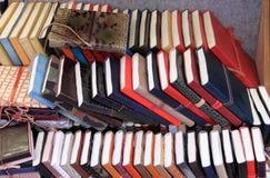 Libri sullo scaffale Fotografie Stock