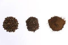 Mucchi del caffè Fotografia Stock Libera da Diritti