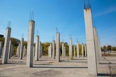 Mucchi del cemento armato Fotografia Stock Libera da Diritti