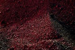 Mucchi della luce del carbone in rosso Immagini Stock Libere da Diritti