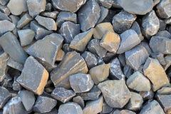 Mucchi della pietra grigia Fotografie Stock