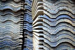 Mucchi delle mattonelle Fotografie Stock