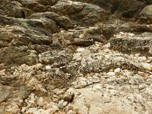 Mucchi delle pietre e delle rocce Immagine Stock Libera da Diritti