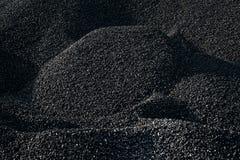 Mucchi di carbone immagini stock