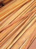 Mucchi di legno Immagini Stock