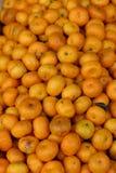 Mucchio arancione Fotografia Stock