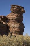 Mucchio curvo della roccia Fotografie Stock Libere da Diritti