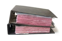Mucchio degli archivi Immagine Stock Libera da Diritti