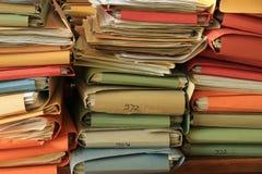 Mucchio degli archivi Fotografie Stock Libere da Diritti