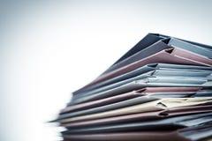 Mucchio degli archivi di documento Immagini Stock Libere da Diritti
