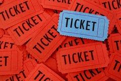 Mucchio dei biglietti