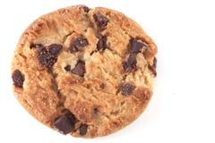 Mucchio dei biscotti di pepita di cioccolato Fotografie Stock Libere da Diritti