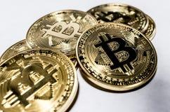Mucchio dei bitcoins Immagini Stock Libere da Diritti