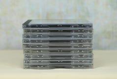 Mucchio dei CD immagine stock