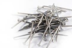Mucchio dei chiodi del ferro Fotografia Stock