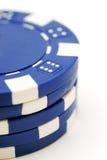 Mucchio dei chip di mazza Fotografia Stock Libera da Diritti