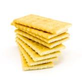 Mucchio dei cracker Fotografie Stock Libere da Diritti