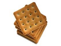 Mucchio dei cracker Fotografia Stock Libera da Diritti