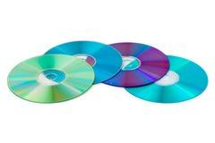 Mucchio dei dischi del calcolatore Fotografia Stock Libera da Diritti