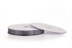 Mucchio dei dischi del dvd Fotografia Stock
