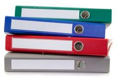 Mucchio dei dispositivi di piegatura Fotografie Stock Libere da Diritti