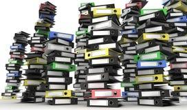 Mucchio dei dispositivi di piegatura Immagine Stock Libera da Diritti
