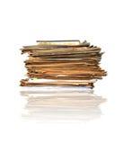 Mucchio dei documenti Fotografia Stock Libera da Diritti